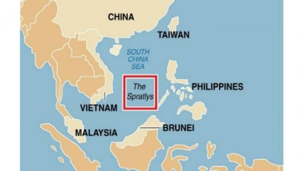 reasons for the spratly island disputes The dispute between china and vietnam over the law, which had been  on  three island groups in the sea: the spratlys, the paracels and the.