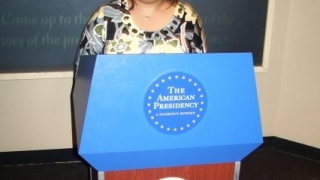 Maricar CP Hampton at the National Press Club of Washington D.C.